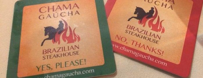 Chama Gaucha (Brazilian Steakhouse) is one of ATL.