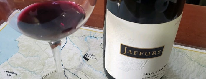 Jaffurs Wine Cellars is one of Santa Barbara's Savory Locavore Cuisine.