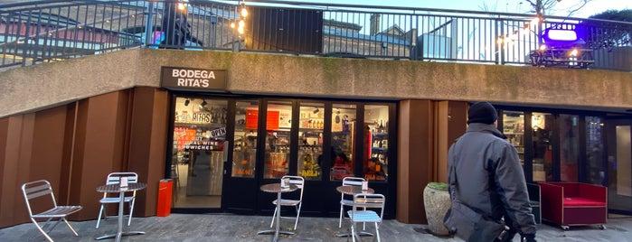 Bodega Rita's is one of london.