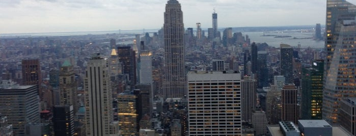 Top of the Rock Observation Deck is one of New York!.