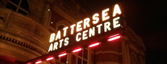 BAC (Battersea Arts Centre) is one of Clapham.