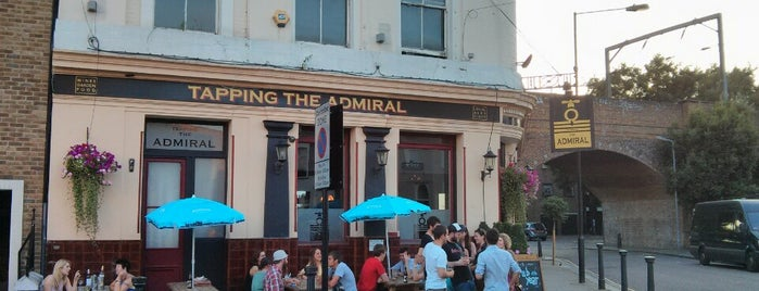 Tapping The Admiral is one of Camden Pubs.