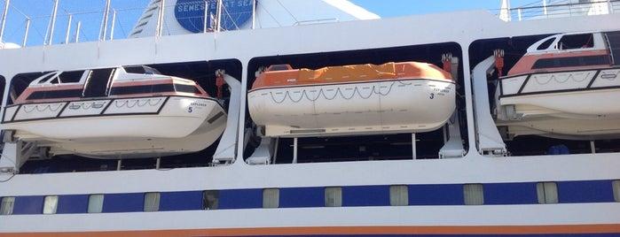 Semester at Sea is one of Lugares favoritos de Kay.