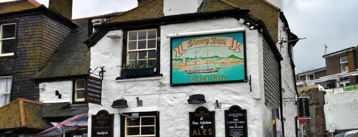 The Sloop Inn is one of Cornwall.
