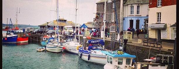 Padstow Harbour is one of England 1991.