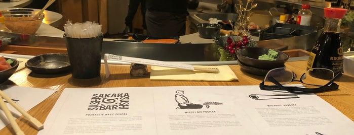 Sakana Sushi Bar is one of Lewando'nun Beğendiği Mekanlar.