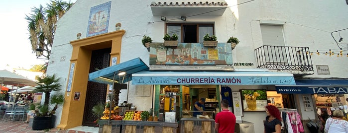 La Auténtica Churreria Ramón is one of Marbella.