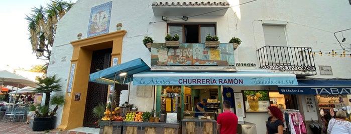La Auténtica Churreria Ramón is one of Marbella.