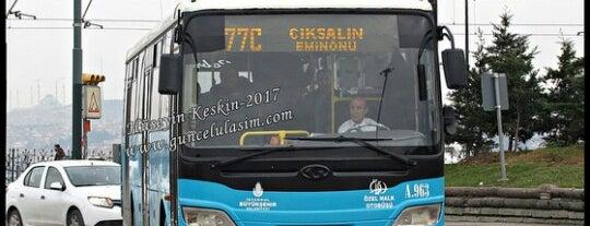 77Ç Çıksalın - Eminönü is one of SU things (Edit/Merge/Delete).