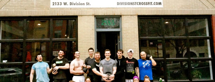 Division St. CrossFit is one of ORD.
