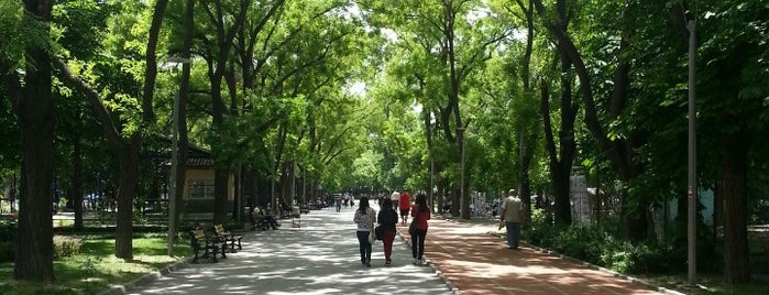 Kurtuluş Parkı is one of themaraton.