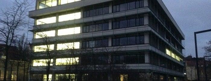 TIB Conti-Campus is one of Tempat yang Disukai Kübra.