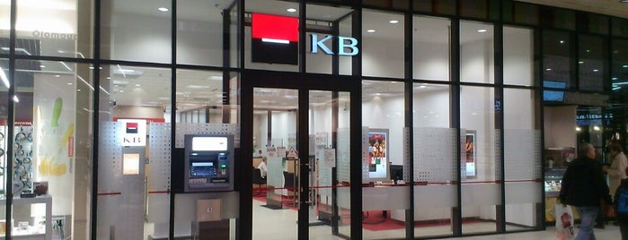 Komerční banka is one of Galerie Šantovka.