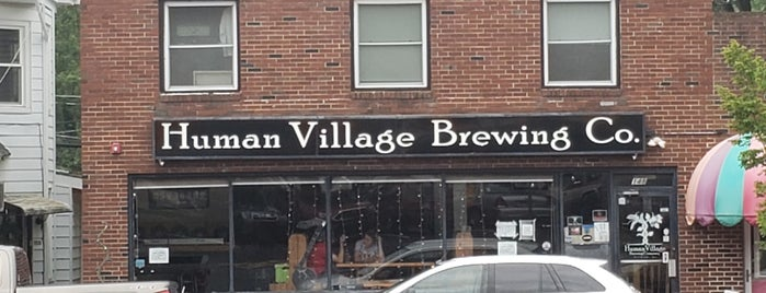Human Village Brewing Company is one of New Jersey Breweries.