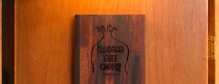Baobab Tree Coffee is one of ♠ 가로수길 지역전문가 ♠.