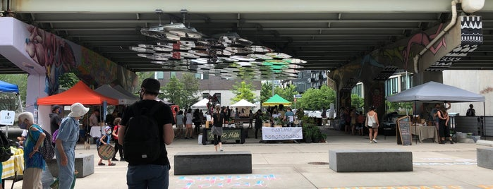 Underpass Park is one of Toronto.