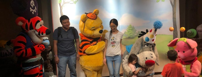 A Place For Friends to Meet (Pooh and Tigger) is one of My vacation @ FL2.