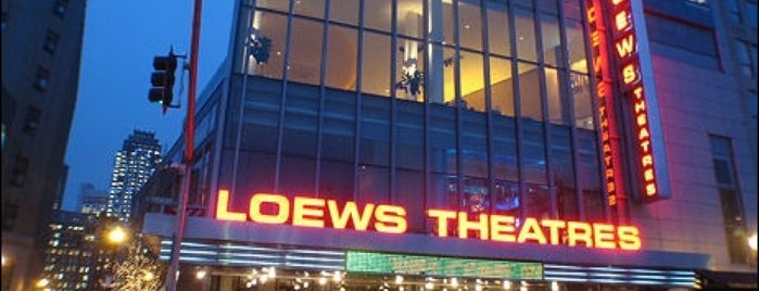 AMC Loews Boston Common 19 is one of Tempat yang Disukai Al.
