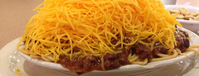 Skyline Chili is one of Locais curtidos por Andrew.