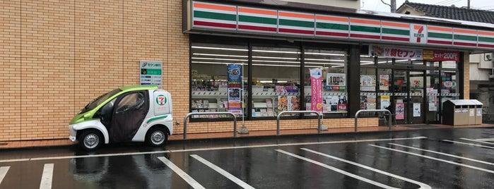 7-Eleven is one of Locais curtidos por Masahiro.