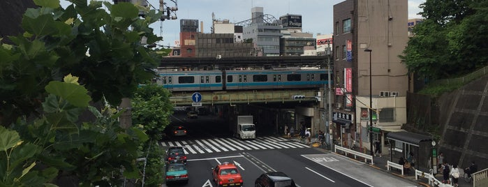 Nishi-nippori Station is one of JR 미나미간토지방역 (JR 南関東地方の駅).