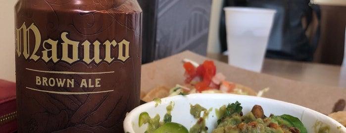 Trejo's Tacos - USC is one of LA eats.