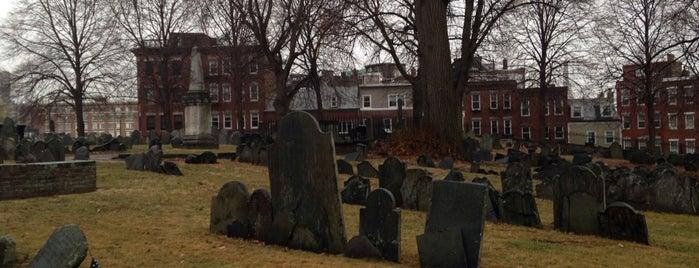 Copp's Hill Burying Ground is one of Boston.