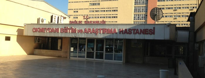 Okmeydanı Eğitim ve Araştırma Hastanesi is one of Tempat yang Disimpan Alaaddin.