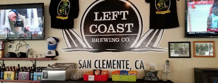 Left Coast Brewery is one of Posti salvati di Brent.
