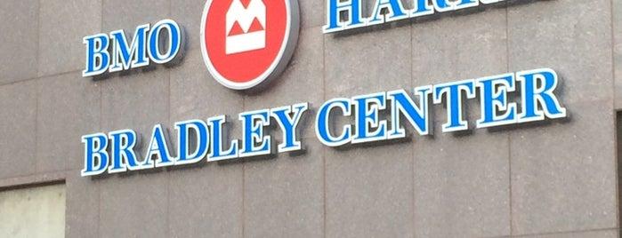 BMO Harris Bradley Center is one of Sporting/Concert....