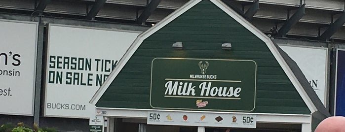 Milwaukee Bucks Milk House is one of Chrisito's Liked Places.