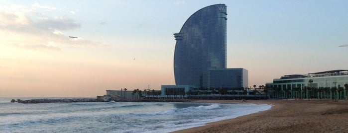 Platja de Sant Sebastià is one of Barcelona city guide.
