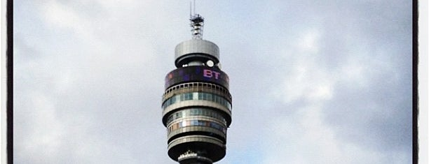 BT Tower is one of London: To-Go.