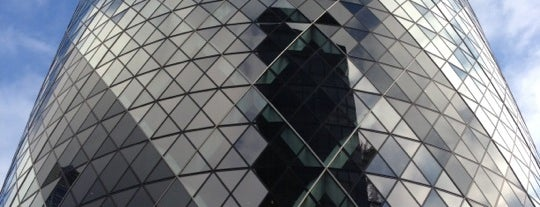 30 St Mary Axe is one of UK & Ireland.