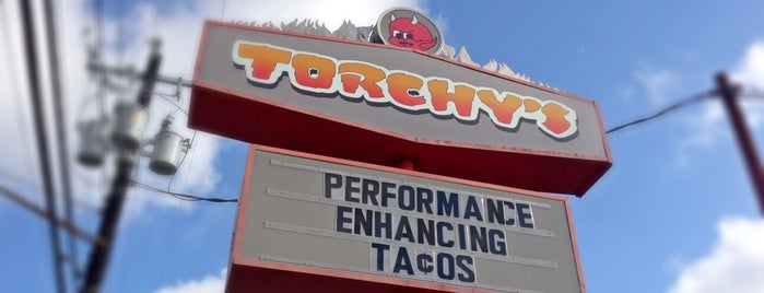 Torchy's Tacos is one of Austin.