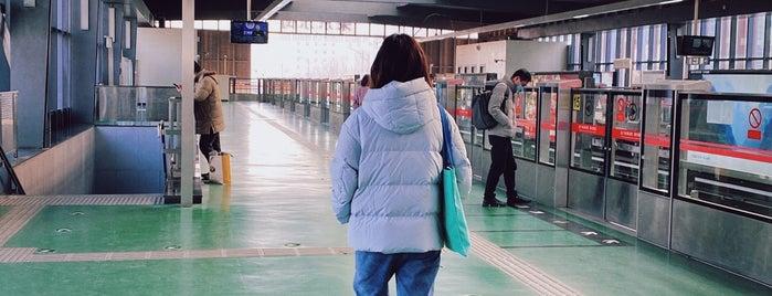 Subway Rongjingdongjie is one of Beijing 2018.