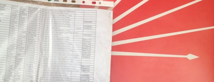 Cumhuriyet Halk Partisi Cinarli  Lokali is one of TC Lütfiye : понравившиеся места.