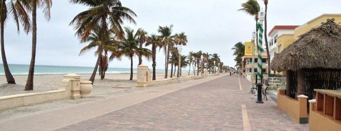 Hollywood Beach Broadwalk is one of Florida.