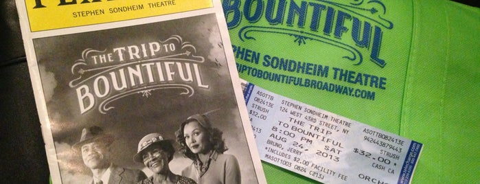 The Trip to Bountiful Broadway is one of Broadway Venues.