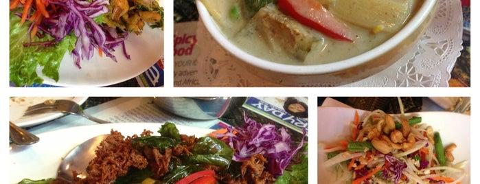 Jitlada Thai Restaurant is one of LA Times - Jonathan Gold 101.