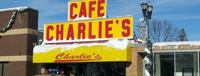 Charlie's Cafe is one of America's Best Diners.