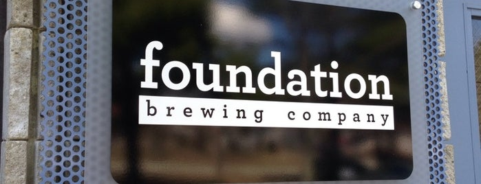 Foundation Brewing Company is one of Lugares favoritos de Rachel.