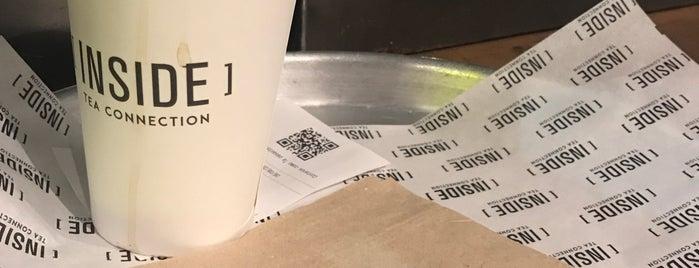 [INSIDE] Tea Connection is one of Meriendas :).