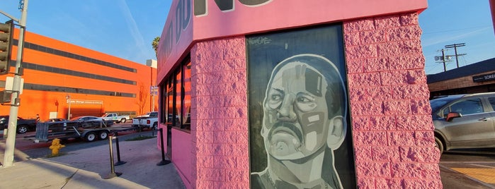 Trejo's Coffee & Donuts is one of Central LA.