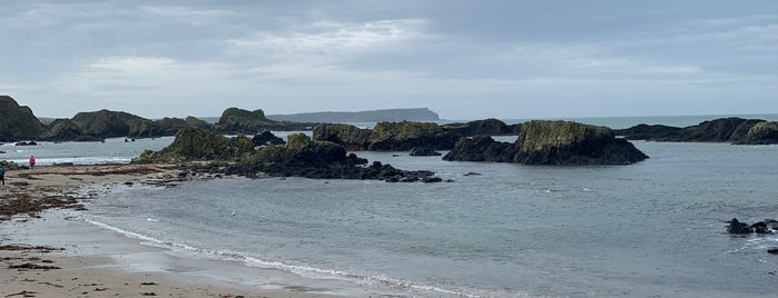 Ballintoy Harbour is one of Game of Thrones filming locations.