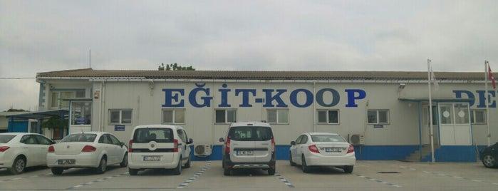 Egit. Koop. Depo is one of Tempat yang Disukai Yener.