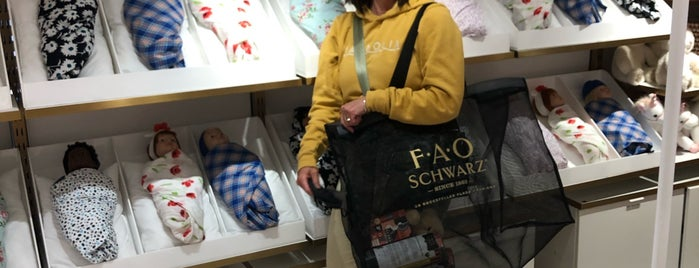 FAO Schwarz is one of NYC 4.