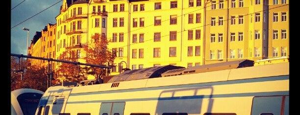 Karlberg (J) is one of Stockholm.