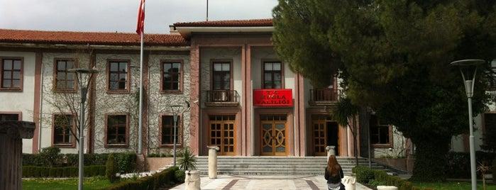 T.C Muğla Valiliği is one of Orte, die İbrahim gefallen.
