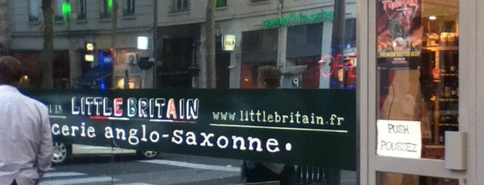 Little Britain is one of Lyon.